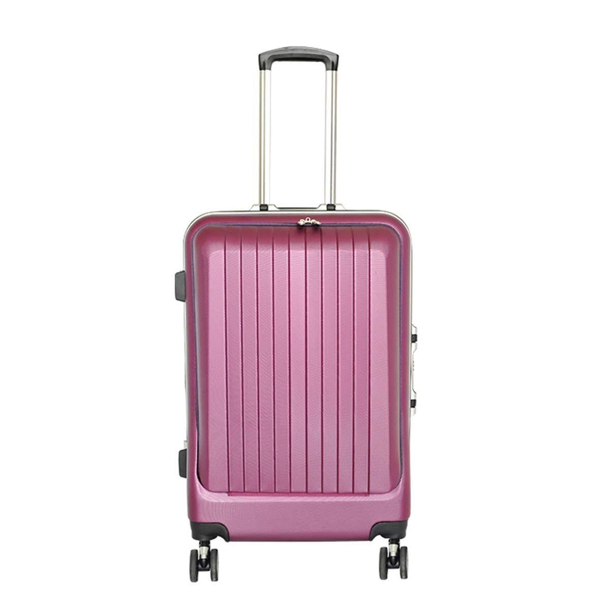 荷物、スーツケースPC + ABS付きTSAロックスピナー軽量ハードシェル360°スピナー荷物トロリー,picture,24inch B07QHZL74F picture 24inch