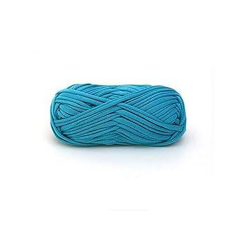 DIY Paño de ganchillo Poliéster Hilo para tejer de mano Rugs cesta, 100 g,