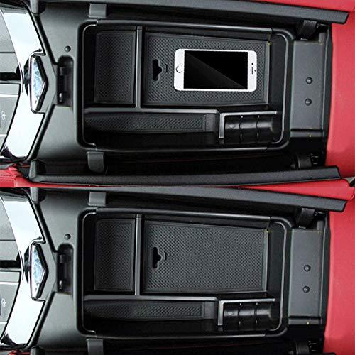 Organizer per bracciolo Centrale in ABS per Auto Abilie per Maserati Ghibli Levante 2014-17