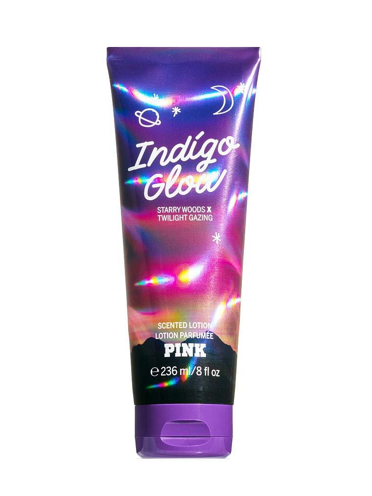 Victoria Secret Pink Indigo Glow Scented Lotion - Starry Woods & Twilight Gazing 8 Fl Oz