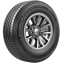 MICHELIN Defender LTX All- Season tires offer long lasting mileage with the safety you expect, and a ride as comfortable as it is quiet. - All Season Passenger Light Truck, SUV, Crossover Tire - Up to 70, 000 Mileage - Long wear life - Excell...