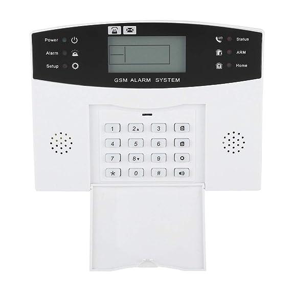 Sistema de Alarma gsm inalámbrico - Alarma antirrobo con ...