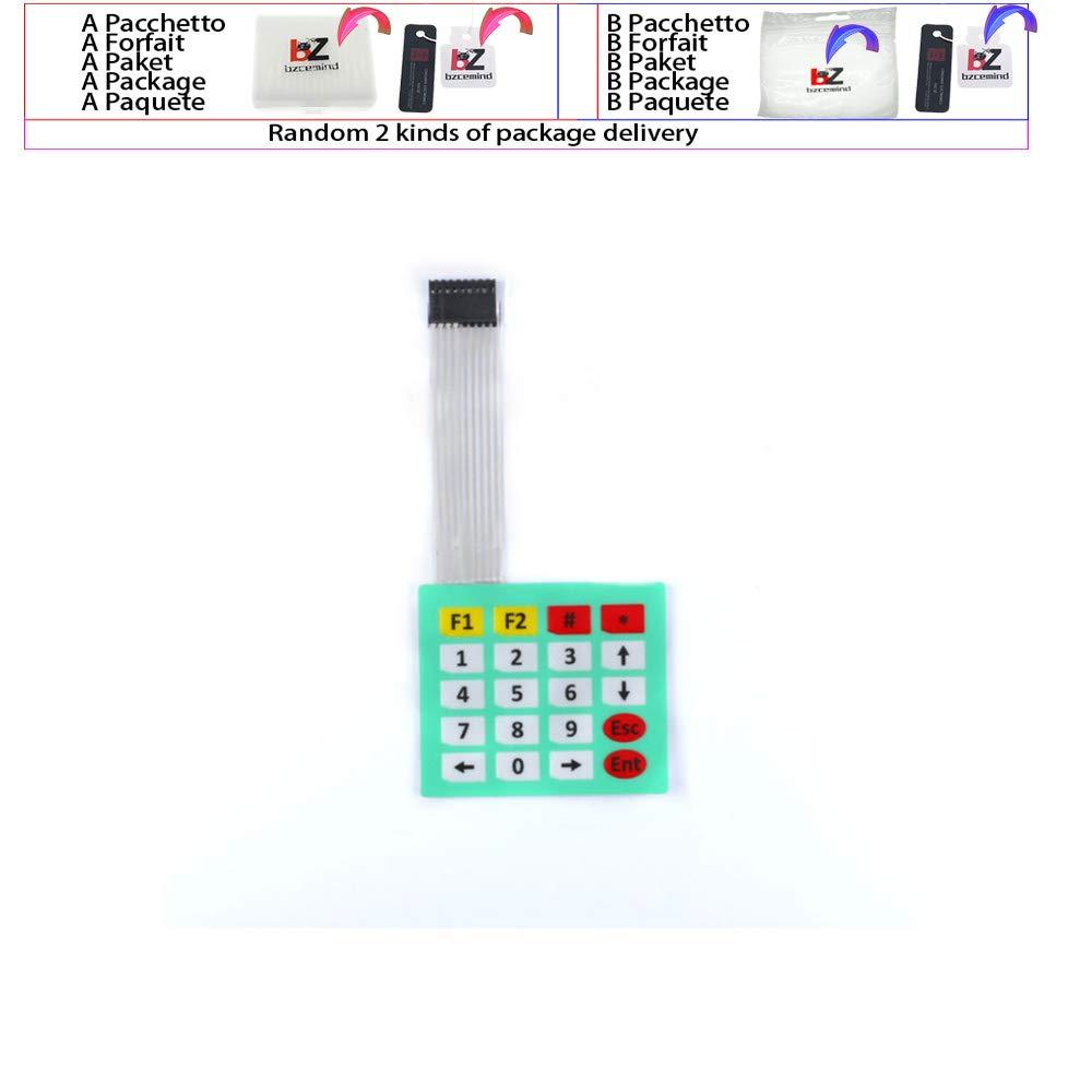 1x4 3x4 4x4 4x5 pulsante membrana interruttore 4 12 16 20 tasti Matrix Array tastiera pannello di controllo pad DIY kit per Arduino