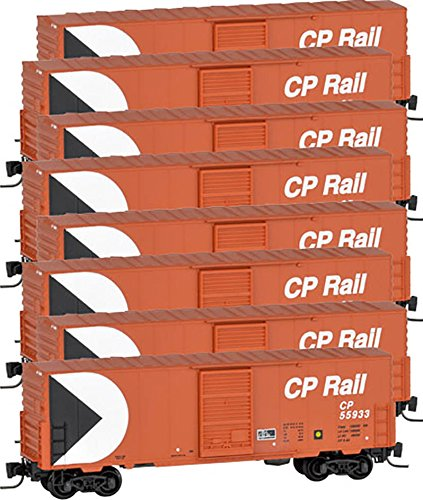 Micro-Trains MTL Z-Scale 40ft Box Cars Canadian Pacific/CP Rail Runner 8-Pack