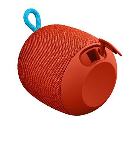 Ultimate Ears WONDERBOOM Portable Bluetooth Speaker – IPX7 Waterproof – 10-hour Battery Life - Fireball Red