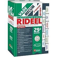 Vade Mecum Acadêmico de Direito Rideel - 2º Semestre 2019 - 29º Edição - Tradicional