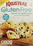 Krusteaz, Gluten Free, Blueberry Muffin Mix with Wild Blueberries in a Can, 15.7oz Box(Pack of 4)
