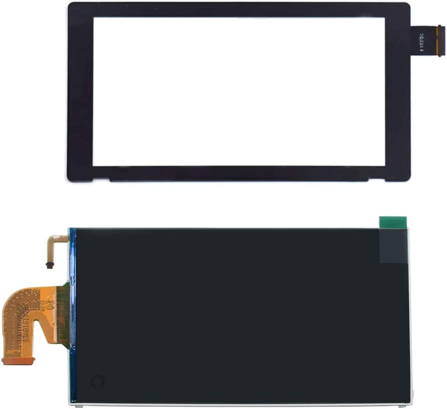 TOMSIN LCD Display Screen and Digitizer Touch Screen Replacement Parts for Nintendo Switch 2017
