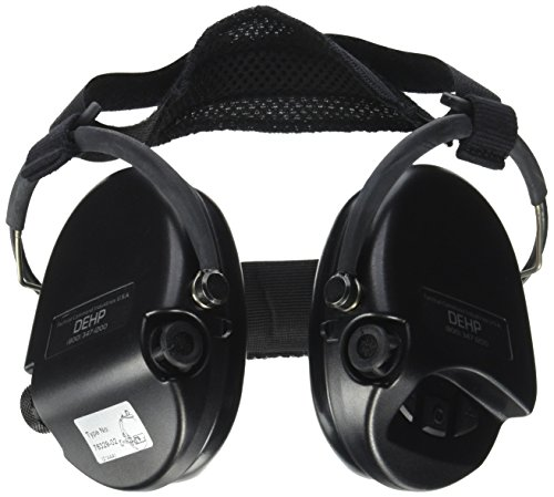 - TCI Communications Behind The Head Suspension Mil-Spec Dehp Digital Hearing Protection, Black