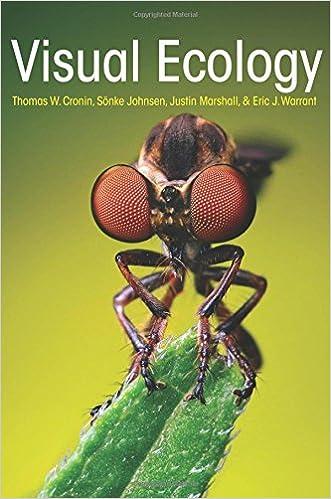 sensory ecology dusenbery pdf