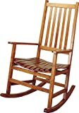Coaster-Southern-Country-Plantation-Porch-RockerRocking-Chair-Oak-Wood-Finish