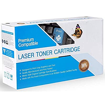 Premium Printing Products Compatible Ink Cartridge Replacement for Canon FX6, Works with: FAX L1000; Laser Class 3170, 3175, 3175MS Black
