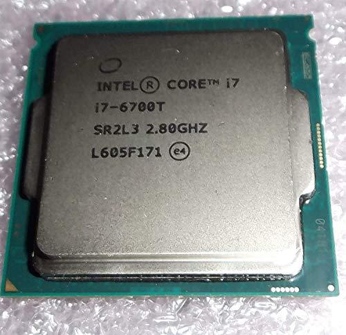 Intel Core i7-6700T DESKTOP processor 2.80GHz TURBO boost to 3.60GHz QUAD core Skylake OEM tray cpu SR2L3 sspec CM8066201920202 (Renewed)