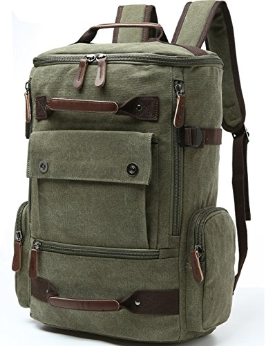 Canvas Backpack Aidonger Vintage Rucksack product image