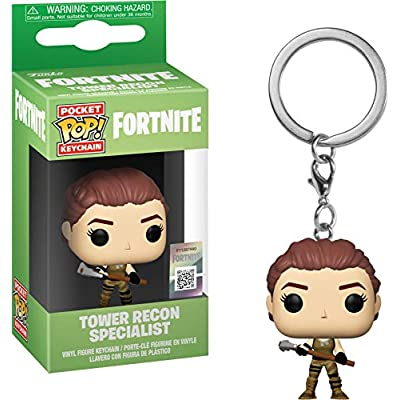 Funko 36951 Pop! Keychain: FortniteTower Recon Specialist, Multicolor: Toys & Games