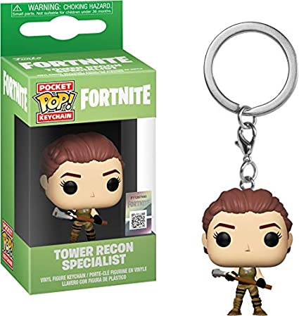 Amazon.com: Funko Pop! Llavero: Fortnite – Tower Recon ...