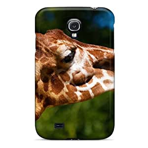 New Arrival Case Cover With LLw3588DBqm Design For Galaxy S4- Giraffe Tongue