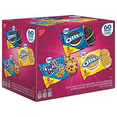 Nabisco Cookie Variety Pack (60 pk.) by Nabisco