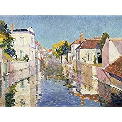 A Canal in Burano Venice Poster Print by Paul Mathieu (22 x 28)