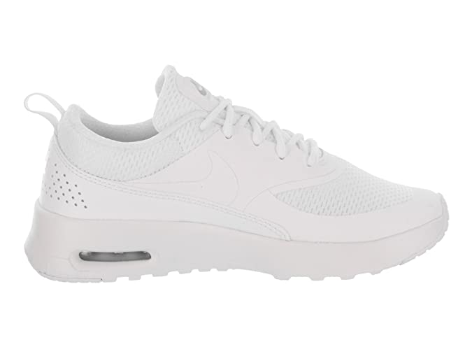 Promotions Nike White &Amp; Silver Air Max Thea Txt Trainers