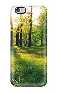 High-end Case Cover Protector For Iphone 6 Plus(sun Between Trees) by mcsharks