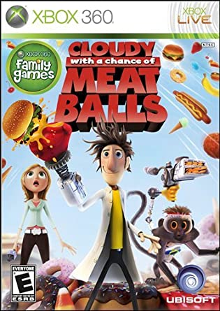 Amazon Com Cloudy With A Chance Of Meatballs Xbox 360 Video Games