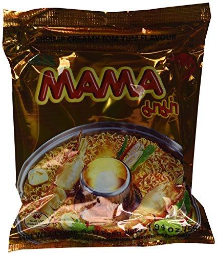 30BAGS MAMA INSTANT NOODLES SHRIMP CREAMY TOM YUM (Shrimp Creamy)
