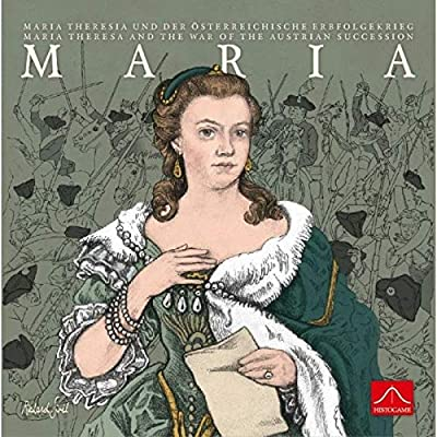 Rio Grande Games Maria Theresa and The War of The Austrian Succession Board Game: Toys & Games