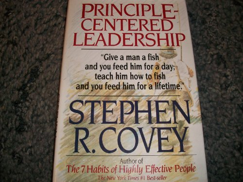 Principle-Centered Leadership Teaching People How to Fish (Self Centered Leadership compare prices)