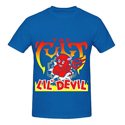 The Cult Lil Devil Hits Mens O Neck Custom T Shirts - Duke Casual Dress Buckle
