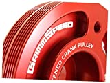 Grimmspeed Lightweight Crank Pulley Blue - All EJ