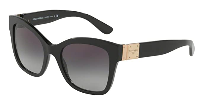 Amazon.com: anteojos de sol Dolce & Gabbana DG 4309 F 501/8G ...