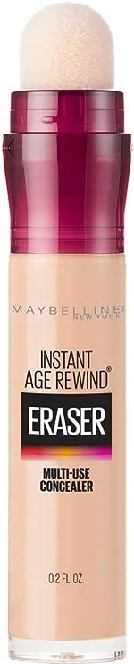 Maybelline Instant Age Rewind Eraser Dark Circles Treatment Multi-Use Concealer, Light,