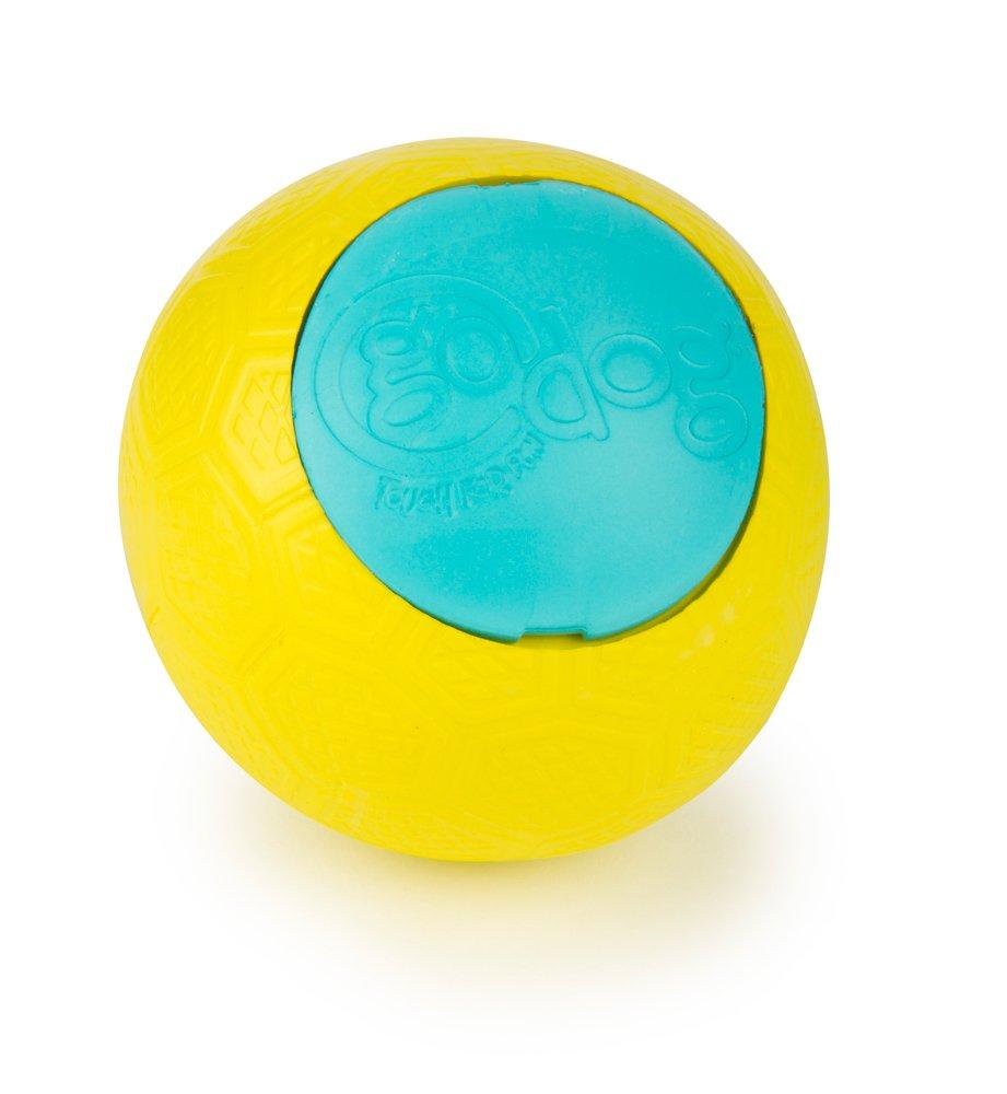 Junior goDog Rhino Play Beast Toy, Junior, Yellow