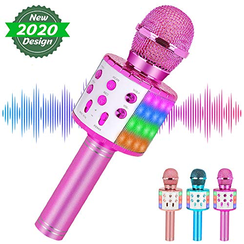 Wireless Karaoke Microphone Bluetooth