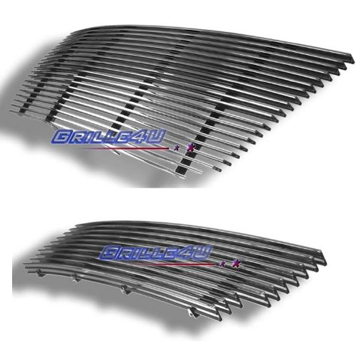 03-06 Ford Expedition Billet Grille Grill Combo Upper+Bumper Insert # F87993A (Ford Expedition Grille Insert)