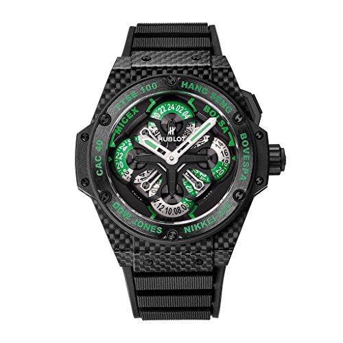 Hublot King Power GMT Chronograph Black Dial Mens Watch 771.QX.1179.RX.CSH13