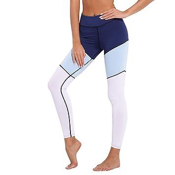 XYACM Pantalones de Yoga for Mujer Slim-fit y Secado rápido ...