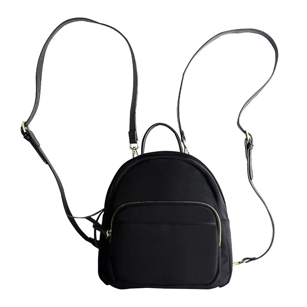 JUMENG Fashion Oxford Mini Backpacks for Women Girls Small Shoulder Bag Waterproof