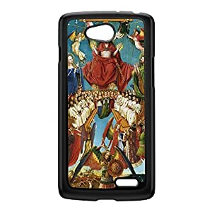 Diptych by Jan van Eyck Black Hard Plastic Case for LG L70 by Painting Masterpieces + FREE Crystal Clear Screen Protector