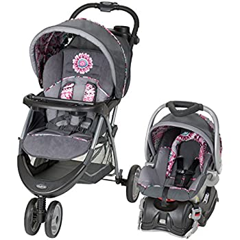 Amazon Com Baby Trend Ez Ride 5 Travel System Paisley