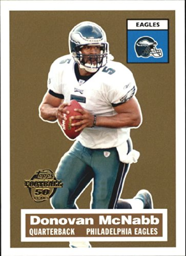 - 2005 Topps Turn Back the Clock #13 of 22 DONOVAN McNABB Philadelphia Eagles