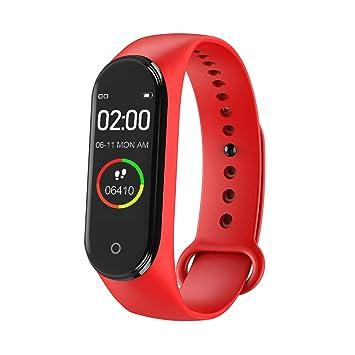 M4 Reloj Inteligente,Monitor de Ritmo cardíaco para la ...