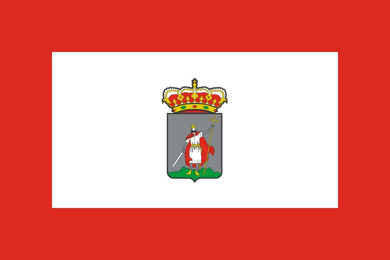 magFlags Bandera XL Gijon | Bandera de Gijón, en Asturias España | Bandera Paisaje | 2.16m² | 120x180cm: Amazon.es: Jardín