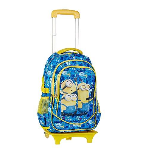 fb0ee228e8 Minions 53412 - Zaino Trolley Scuola Elementare, 31Cm X 44Cm X 18Cm