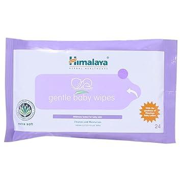 Himalaya Herbals Baby Wipes (24 Sheets) Baby Wet Wipes at amazon