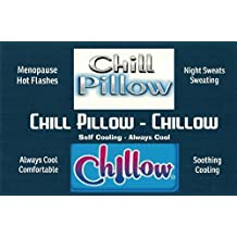 Chill Pillow - Chillow - Self Cooling - Always Cool - Night Sweats - Menopausal Discomfort - Hot Flashes
