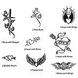 Iwata-Medea Temporary Tattoo Transfer Sheet, Wild At Heart II