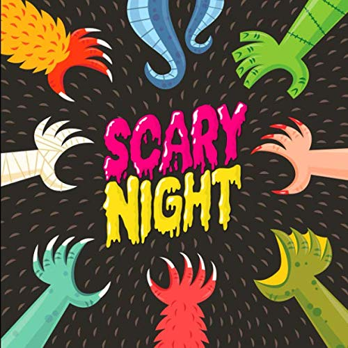Scary Night: A Fun Halloween Themed Rhyming Book for 2-5 Year Olds