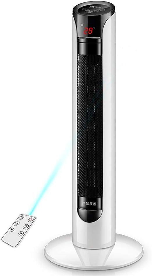 LTJX Ventilador Torre, 2 Niveles de Potencia y Modo Ventilador ...